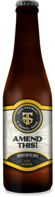 Amend This! Pilsner Bottle