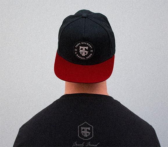 Red & Black Hat
